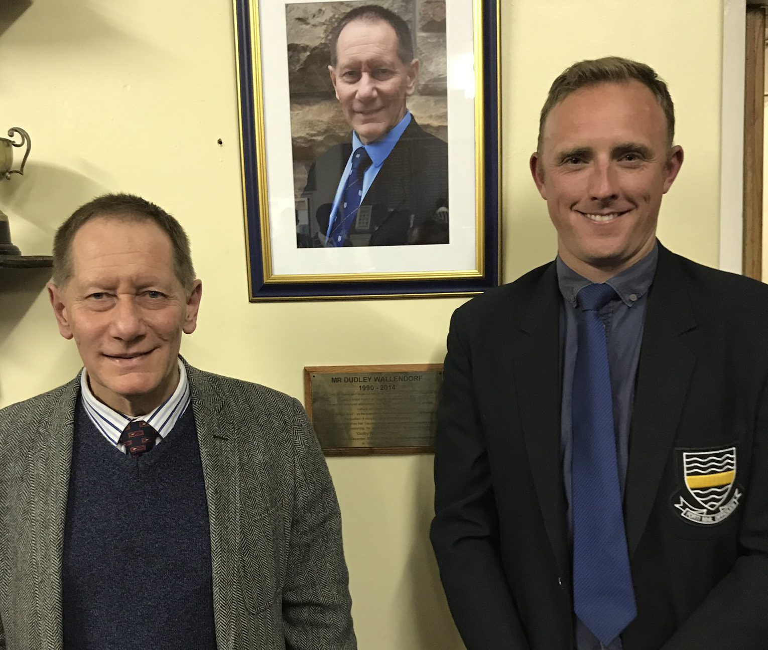 Tsessebe names dining room after Mr Wallendorf